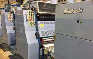 Уникальная ролевая  УФ машина Miyakoshi MVF26K в Санкт-Петербургской Образцовой типографии