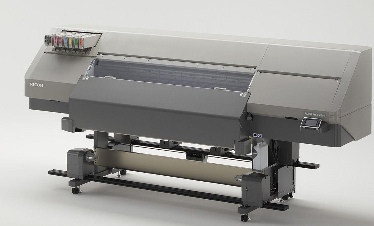 Ricoh увеличила цветовой охват в латексных принтерах серии Pro L5100e