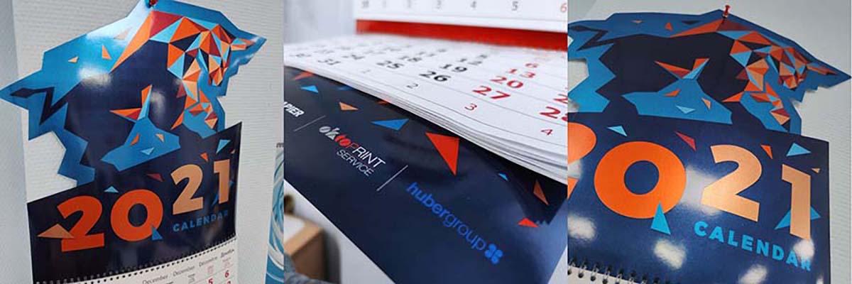 Календарь 2021 от «ОктоПринт Сервис», «хубергруп РУС» и партнёров