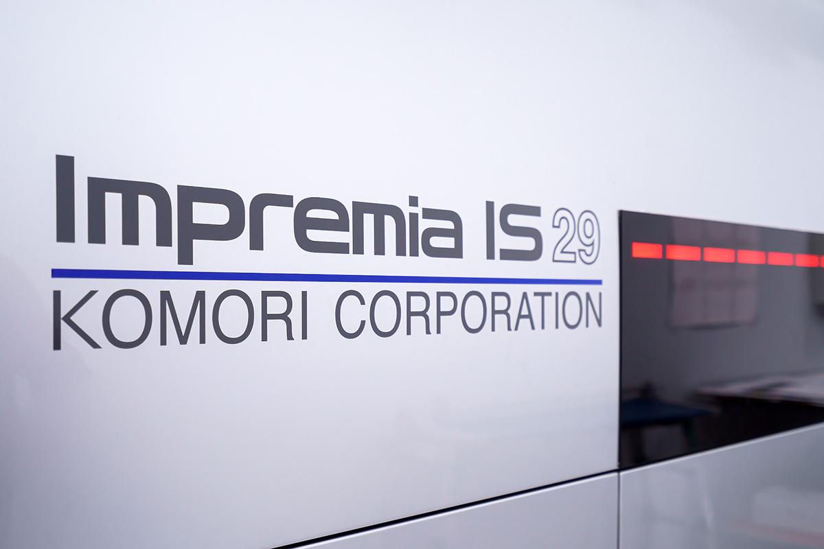 Цифровая УФ печать формата B2 теперь и в России. «Девиз» ввёл в эксплуатацию KOMORI Impremia IS29