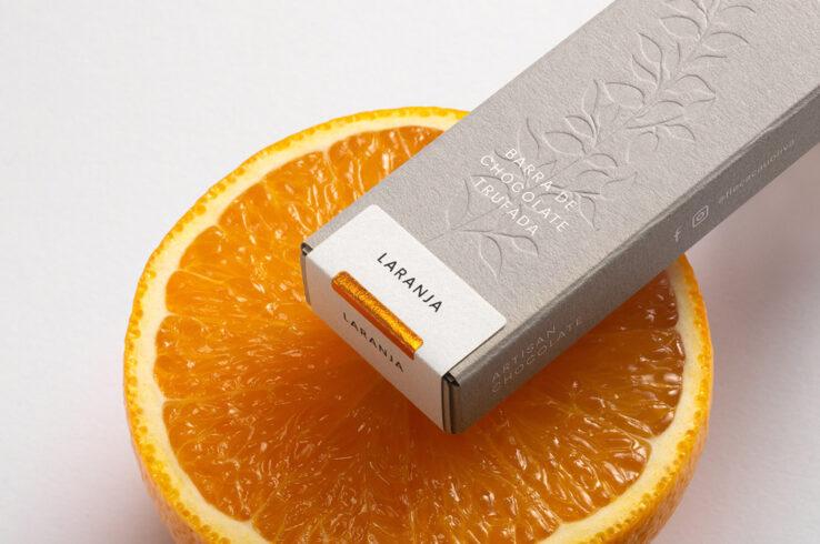 Упаковка шоколада ручной работы Flè Cacau & Oliva