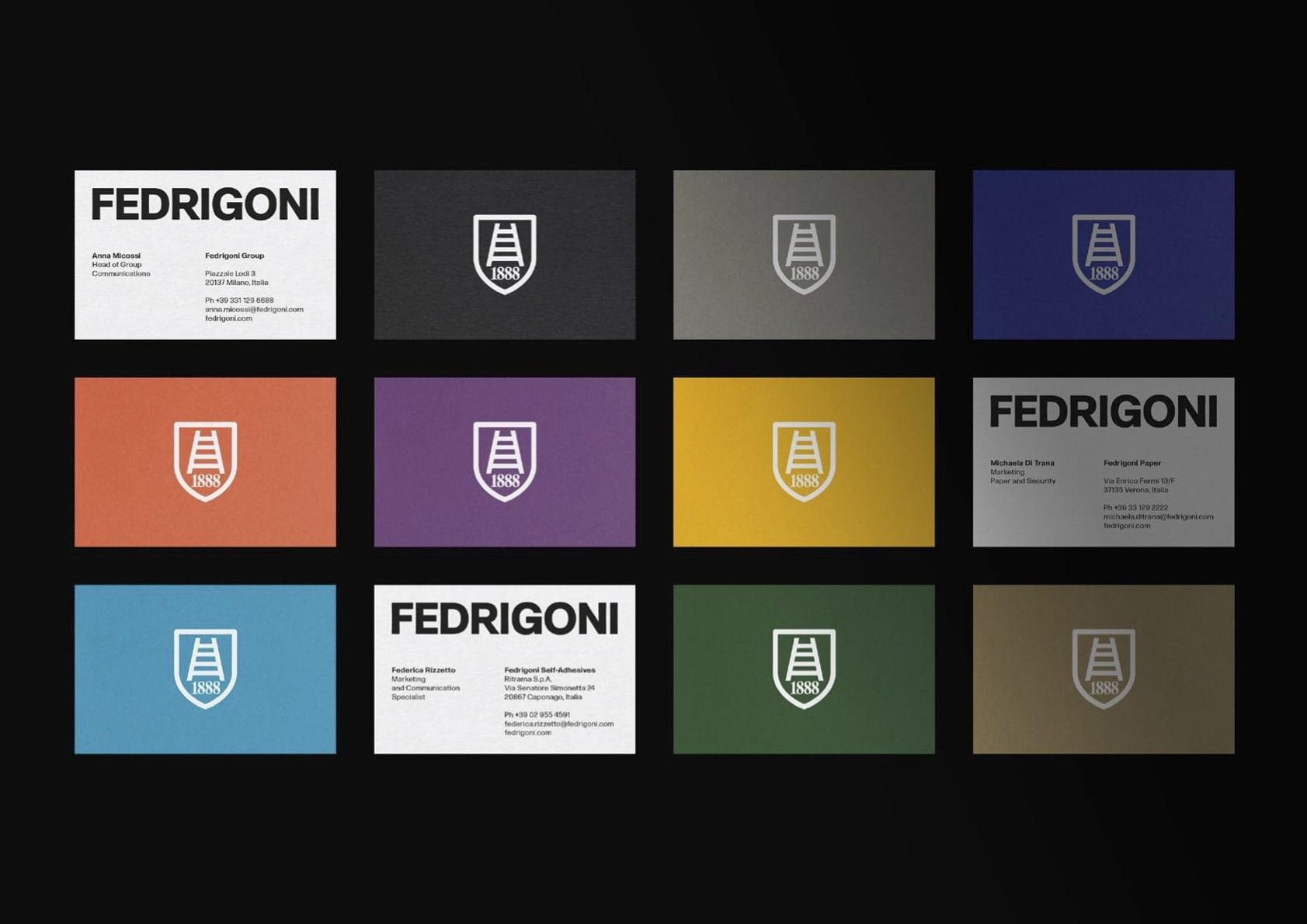 Производитель бумаги Fedrigoni делает  глобальный ребрендинг
