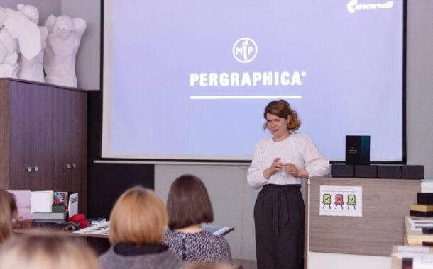 Презентация новой коллекции цветной бумаги PERGRAPHICA COLOURS в «Дубль В Санкт-Петербург»