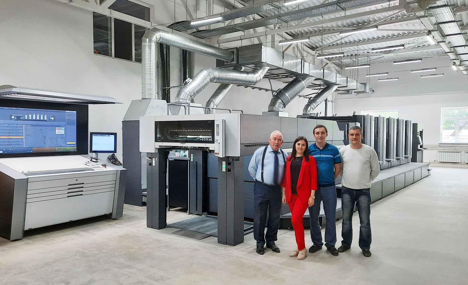 На «Яснополянской фабрике тары и упаковки» запущен комплекс нового оборудования Heidelberg